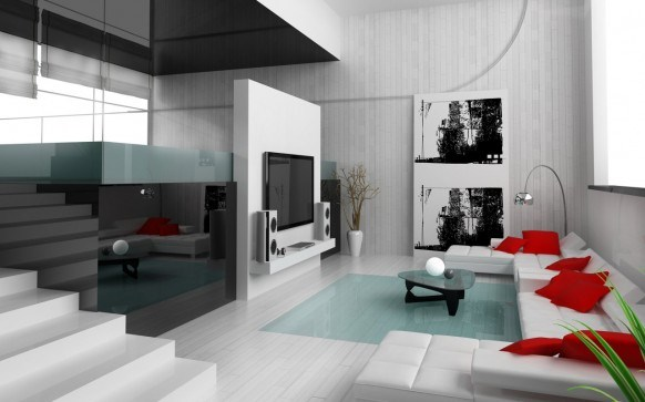 Modern And Stylish Interior Designs For Living Rooms