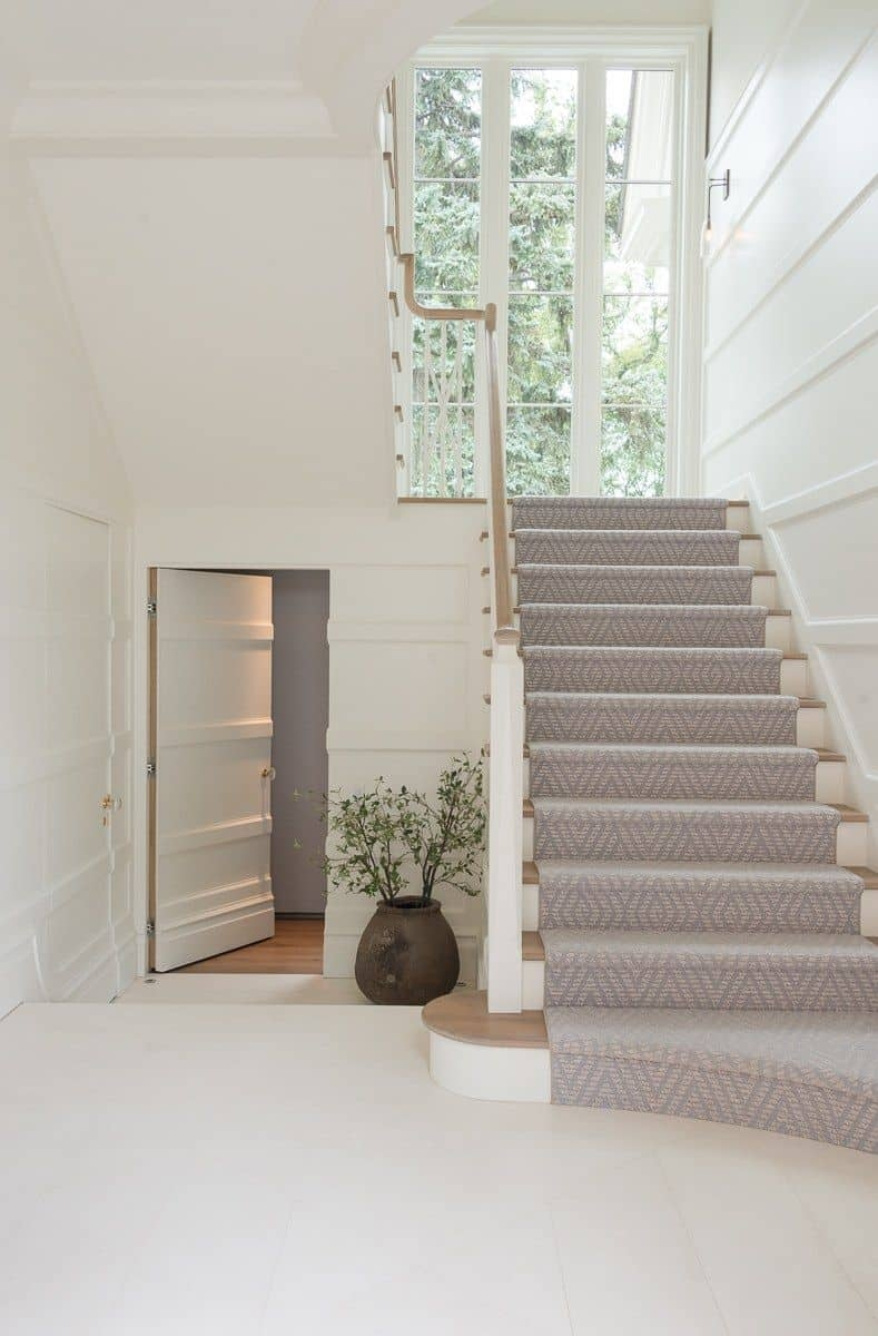 Should I Add A Carpet Or Rug Runner To My Mountain House Staircase | Stair Carpets Near Me | Basement | Diamond Pattern | Wall To Wall | Berber | Stylish