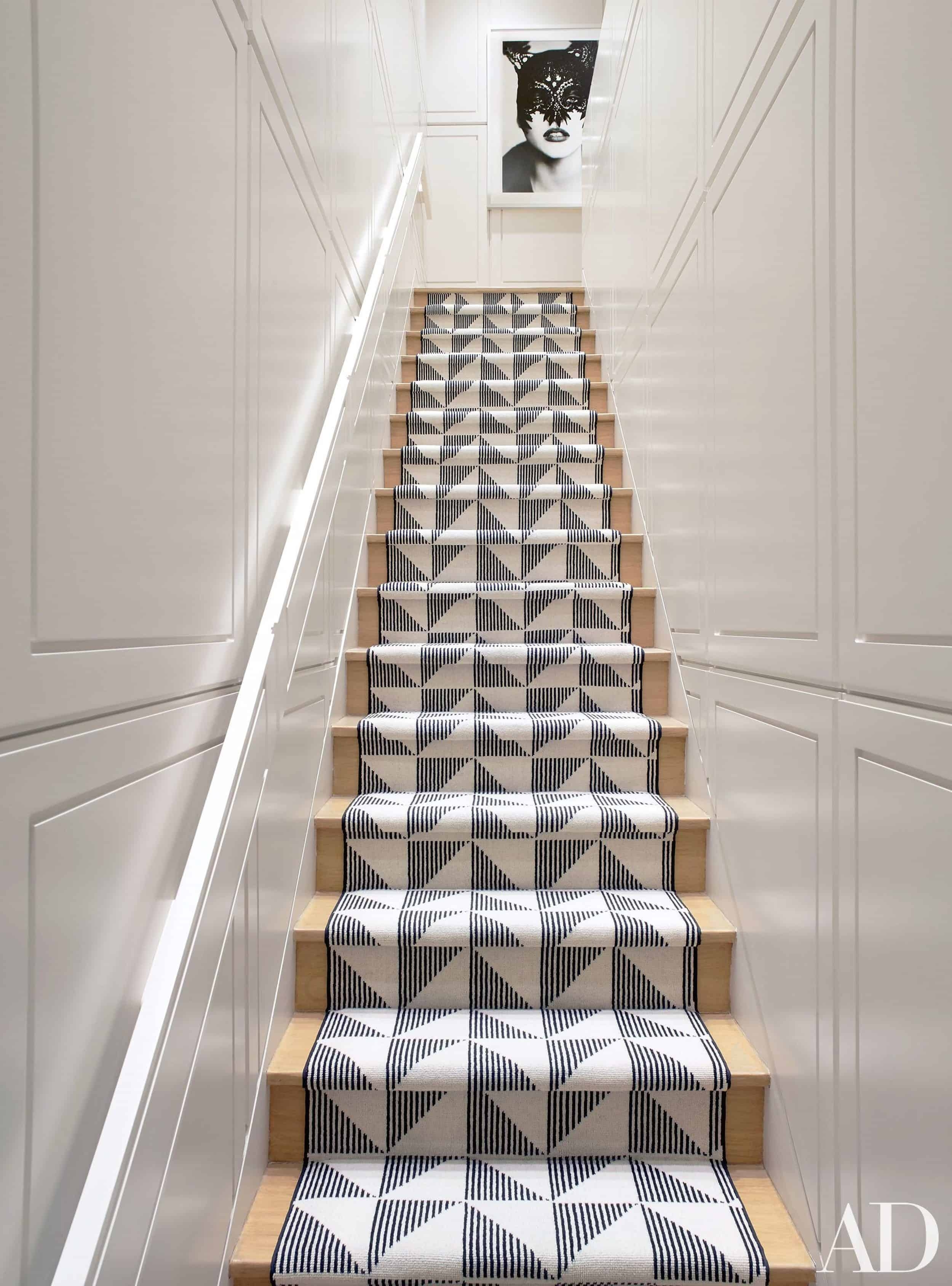 Should I Add A Carpet Or Rug Runner To My Mountain House Staircase | Carpet Squares For Stairs | Diy | Right Price Carpet | Hallway | Interior Modern | Stair Carpet Installation