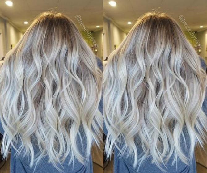 Highlights And Lowlights Gray Hair