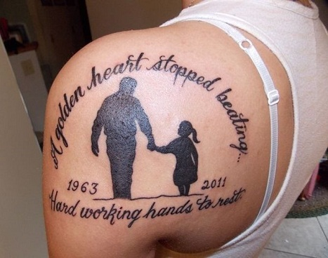 Top 9 Unforgettable Memorial Tattoos | Styles At Life