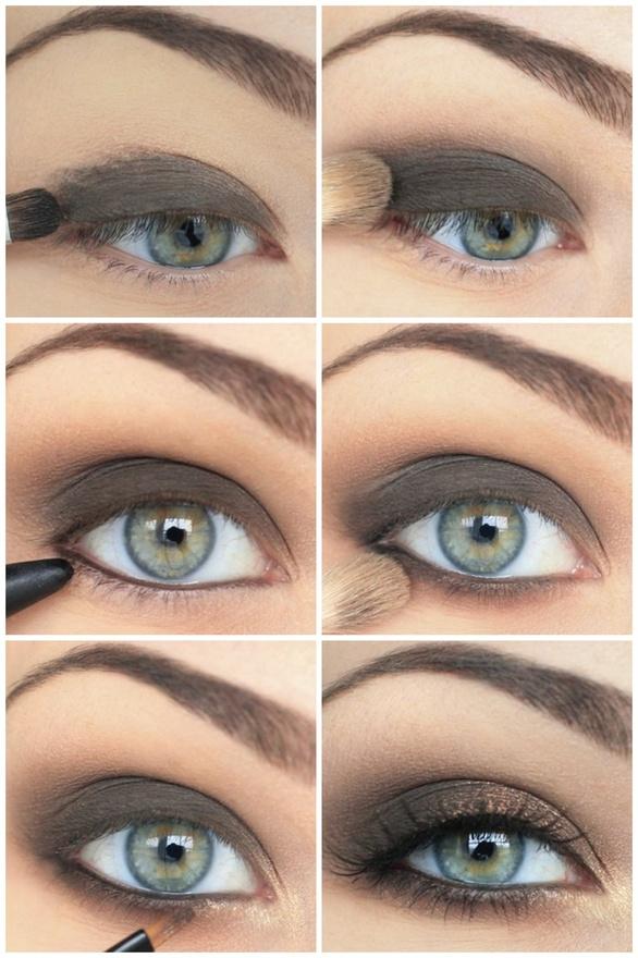 Brown Shadow Cat Eye Tutorial