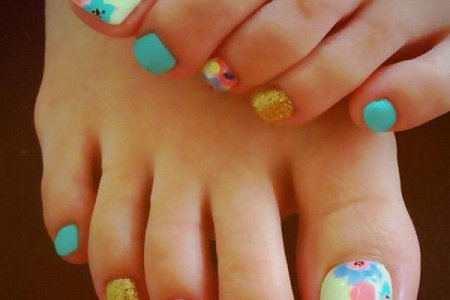 Flower Nail Art Designs For Toes 4k Pictures 4k Pictures Full