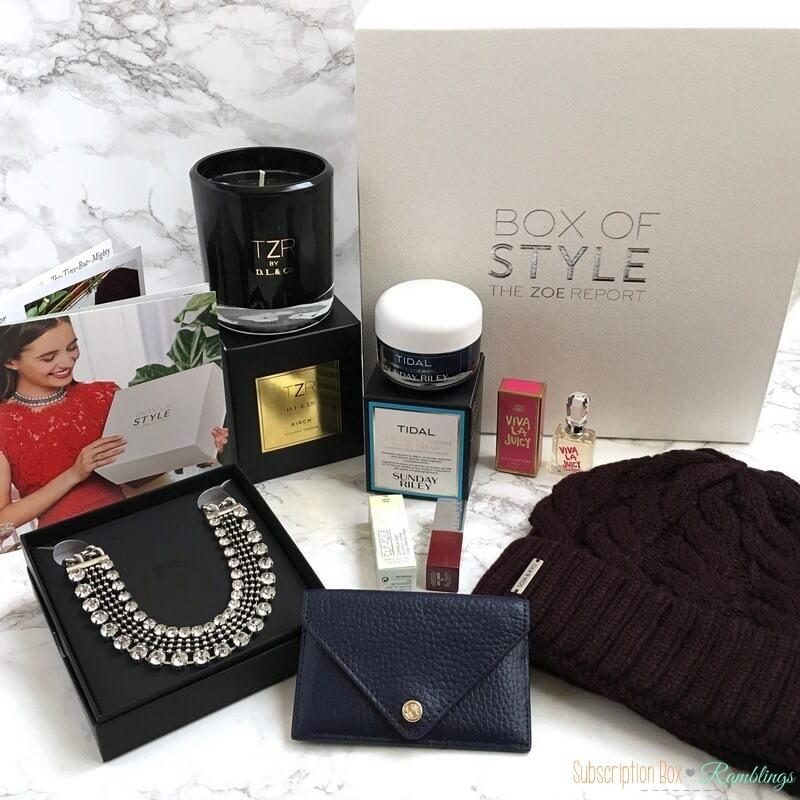Box of Style Review Winter 2016 + Coupon Code ...