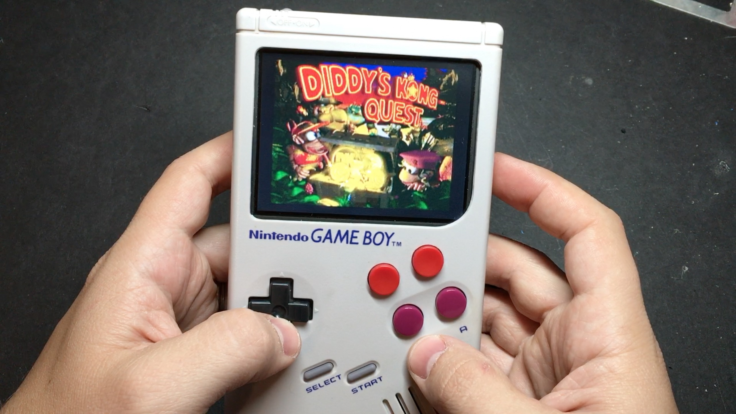 This custom Game Boy can play every game from the NES  Sega Genesis     Photo via SudoMod
