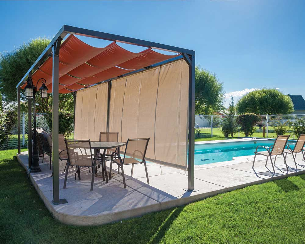 Slide Wire Cable Canopies Sugarhouse Awning