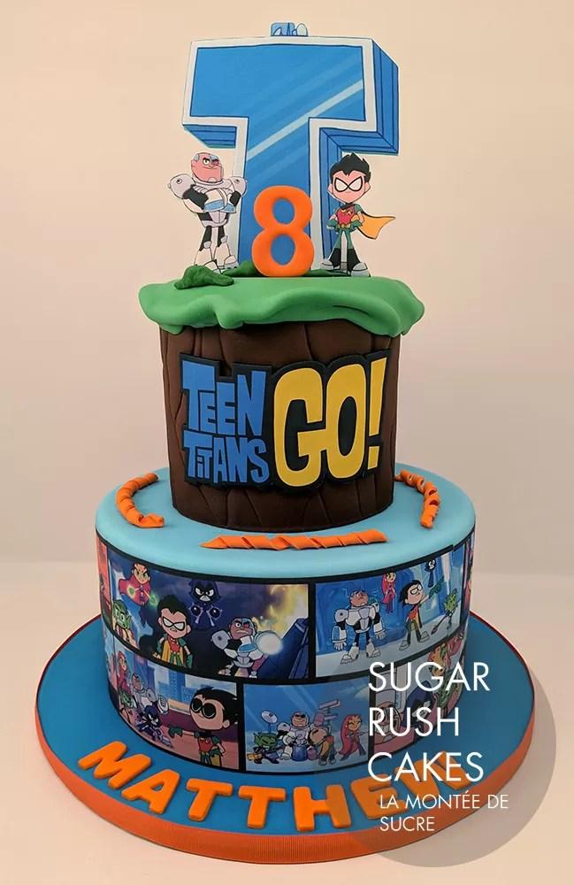 Custom Birthday Cakes Sugar Rush Cakes Montreal Sugar