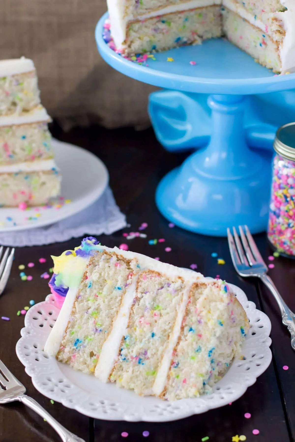 Funfetti Cake From Scratch Amp A Very Merry Unbirthday