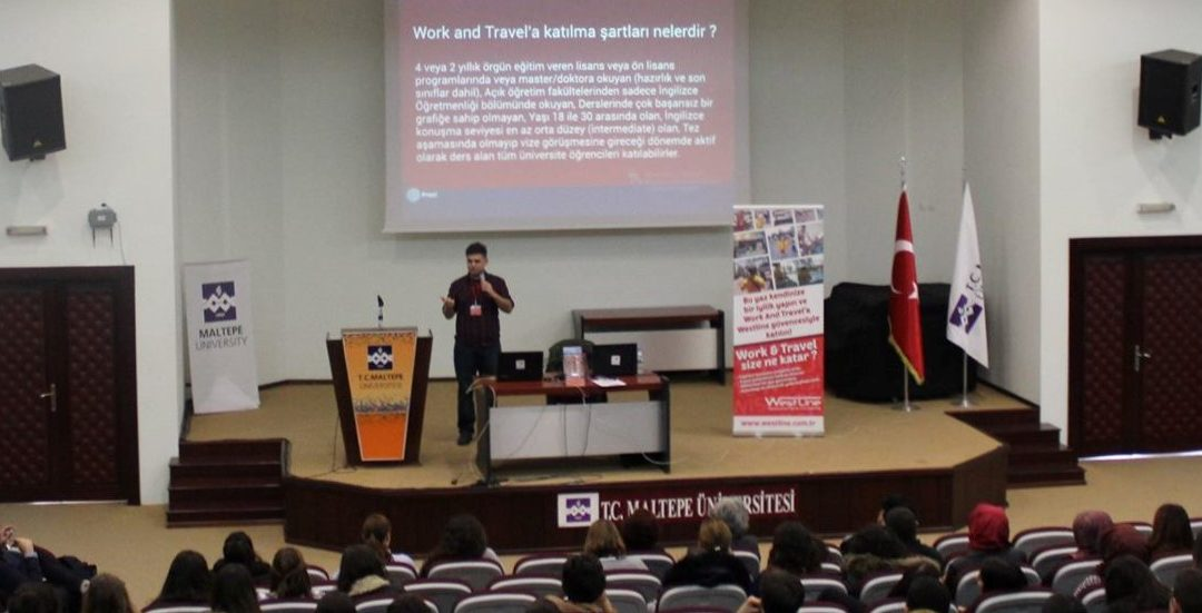 Maltepe Üniversitesi Work and Travel Semineri