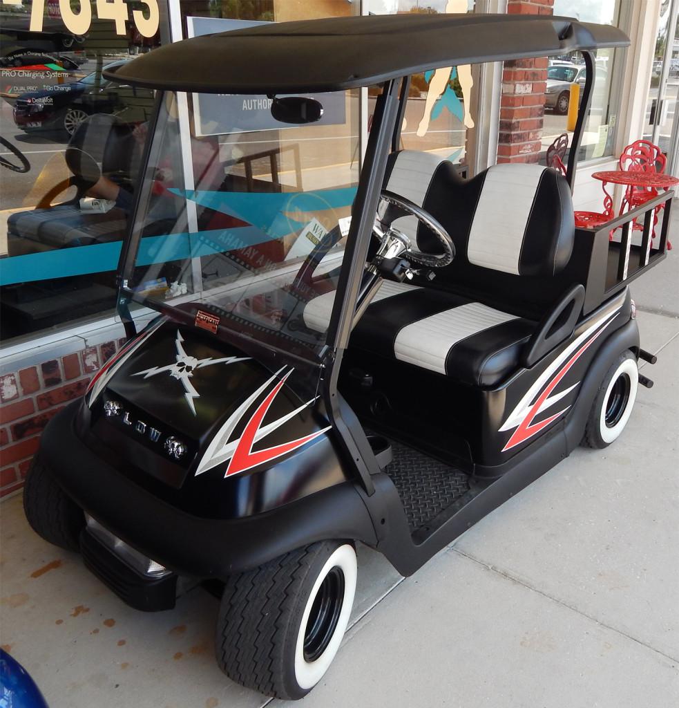 Portable Golf Cart Sun Shades