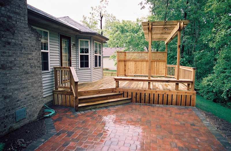 Pergola Trellis Builder Columbus Ohio For Deck Shade