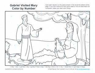 mary coloring pages # 16