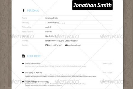 28 Minimal   Creative Resume Templates   PSD  Word   AI  Free     Clean Creative Resume with Vector Icons