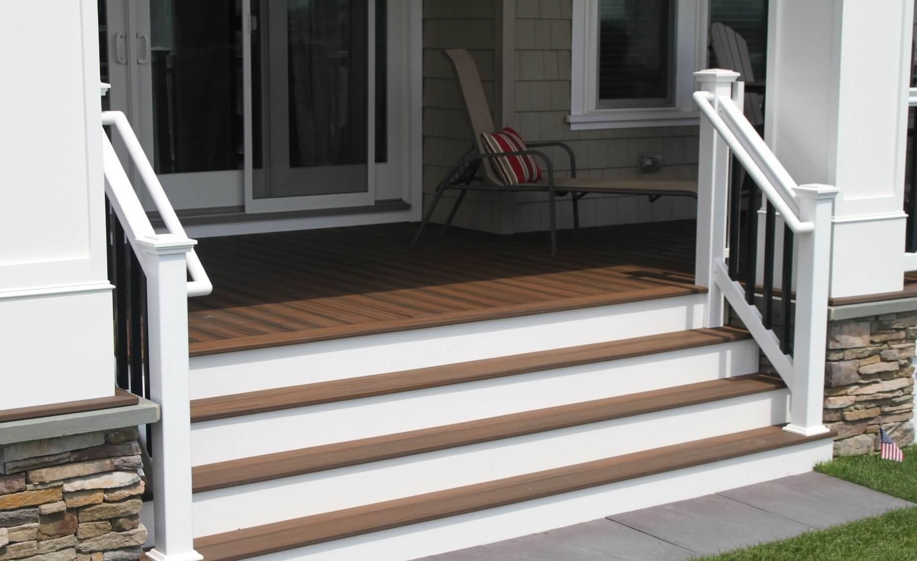 Ada Aluminum Handrail Superior Plastic Products Inc   Deluxe Stair And Railing   Houzz   Wood Railings   Wood   Railing Ltd   Deluxe Indoor