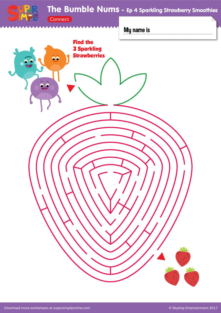 The Bumble Nums Ep 4 Maze Super Simple