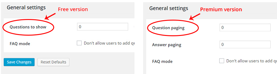 Extended – Question & Answer Module