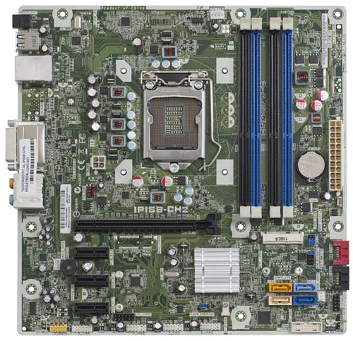 Dual Hp Motherboard Processor