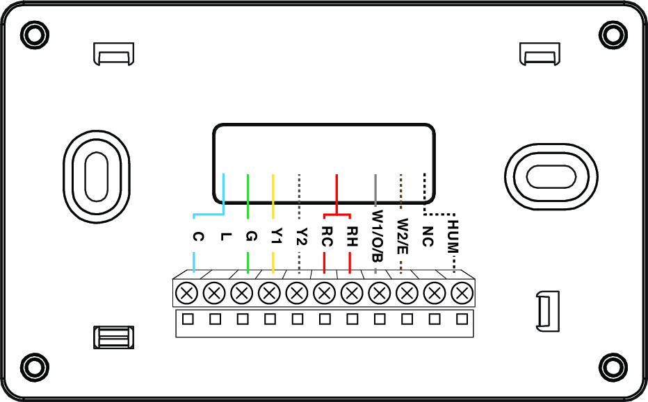 Diagram  Thermostat Wiring Configurations U2013 Customer