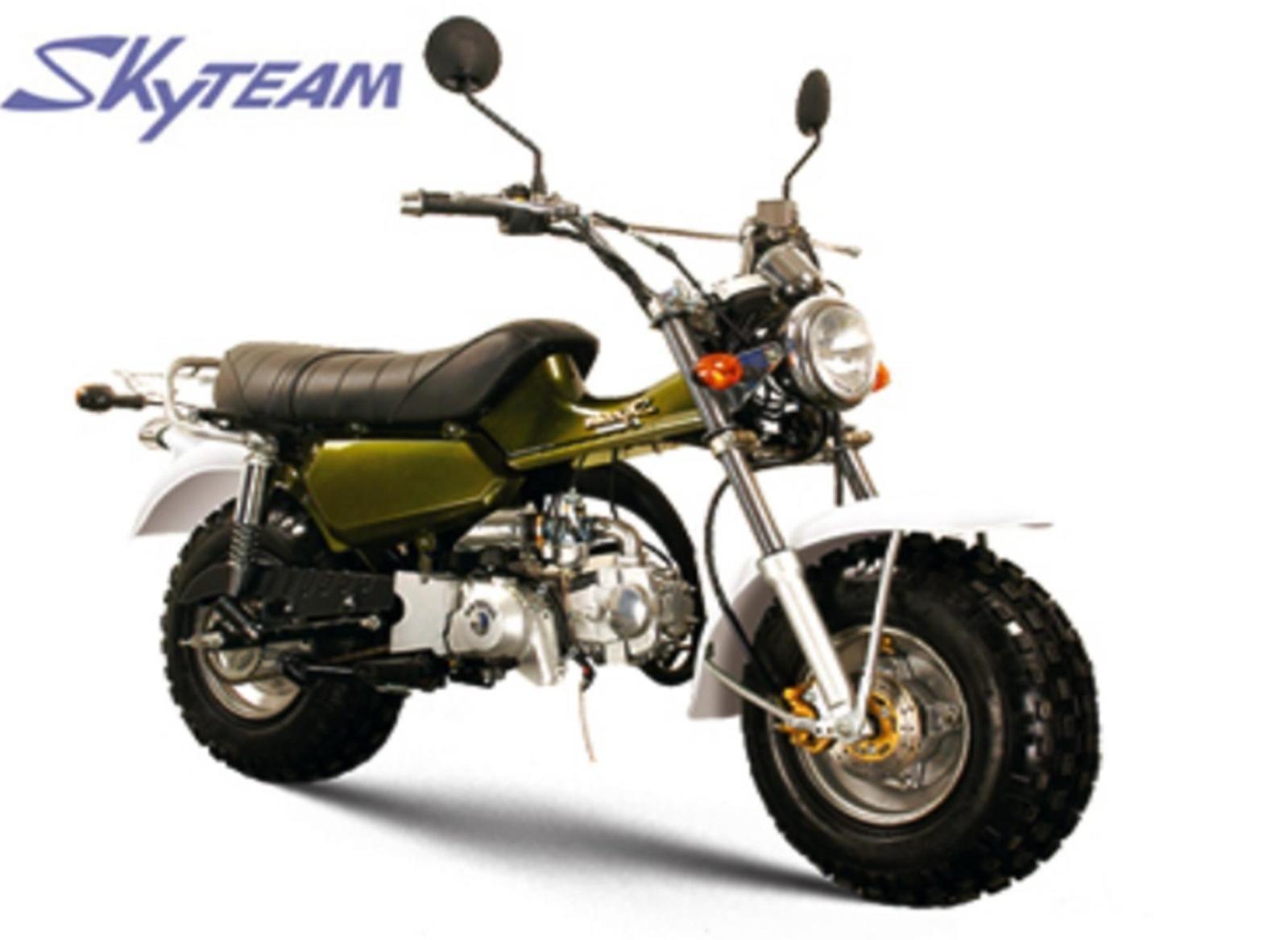 Retro Honda 50cc Motorcycle 1960s Bike