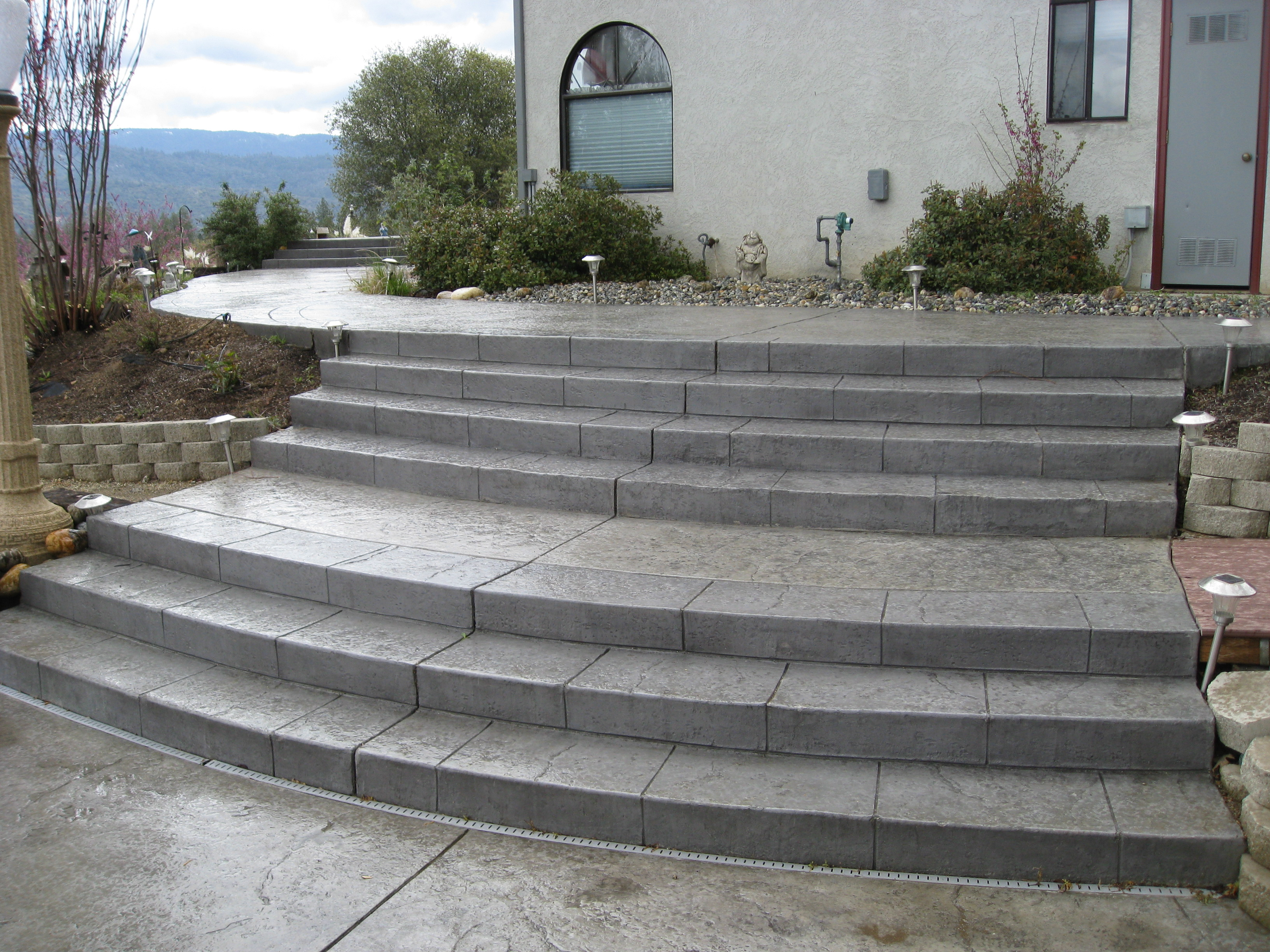 Decorative Concrete Stairs Surface Solutions Concrete Sf