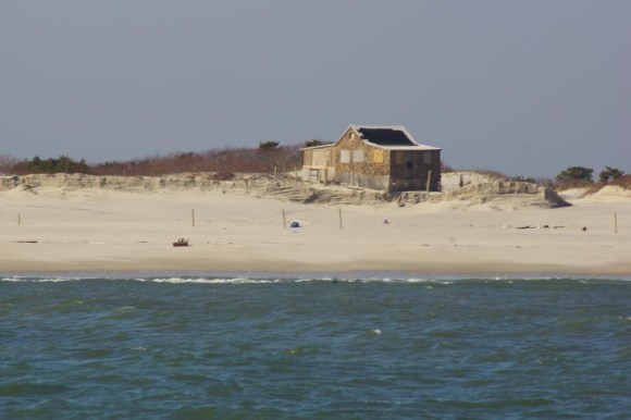 Island Beach State Park Judges Shack after hurricane Sandy ...