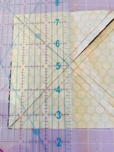 Triangle Ruler Quilting
