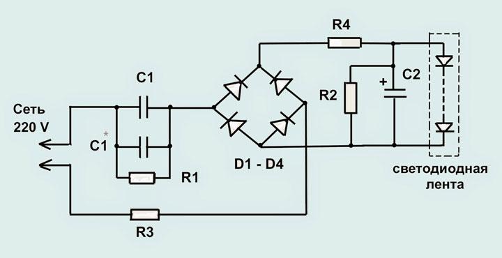 vilka ledningar för att ansluta LED-remsans kraft