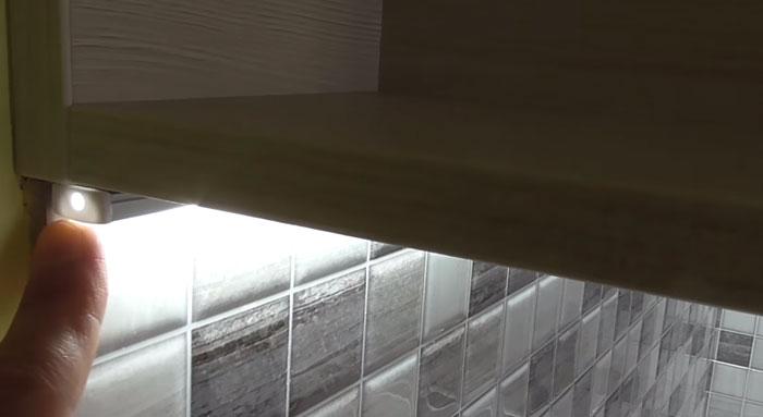 Ас үйдегі ленталық таспа профилін сырлау