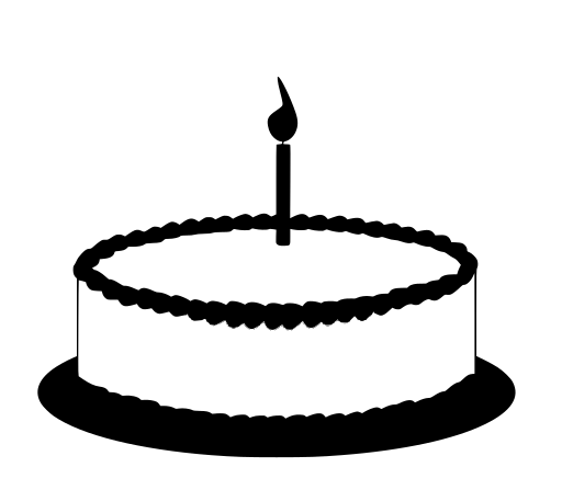 Svg Gt Candle Cake Flame Birthday Free Svg Image Amp Icon