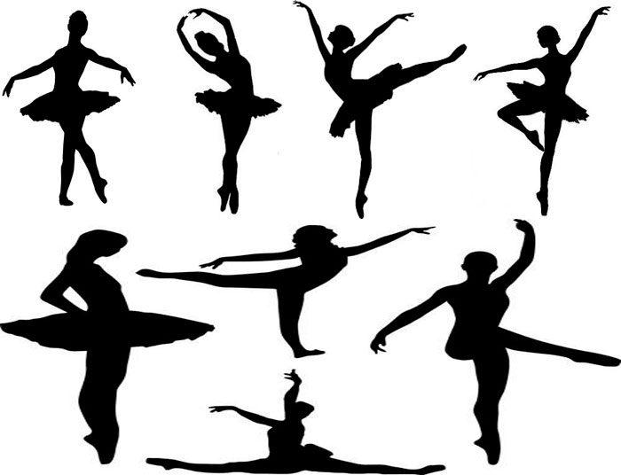 Қар ұшқыны балерина шаблондары