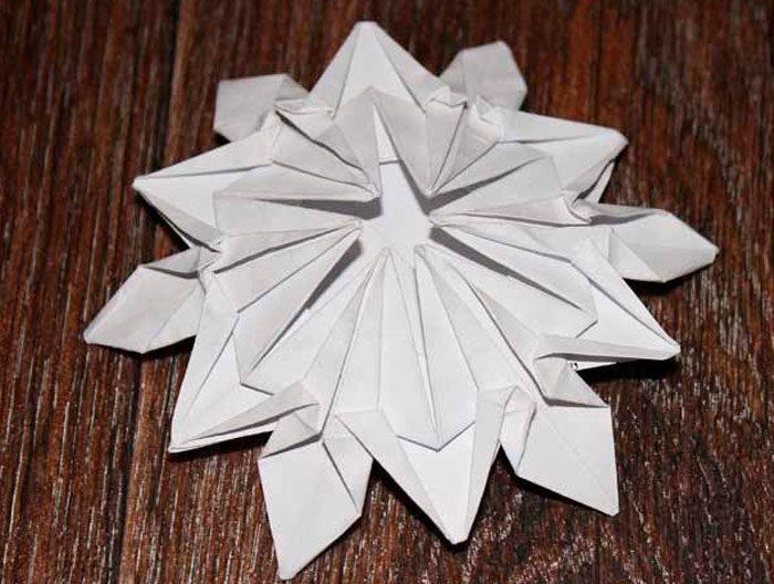折纸的雪花