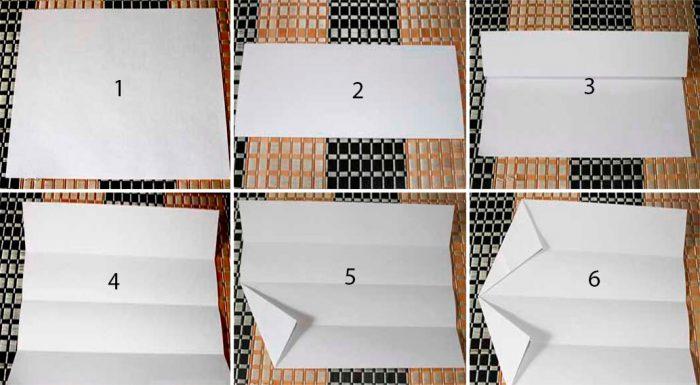 Snöflingor i Origami Master Class