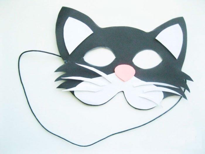 """Masque de papier """"CAT"""""""