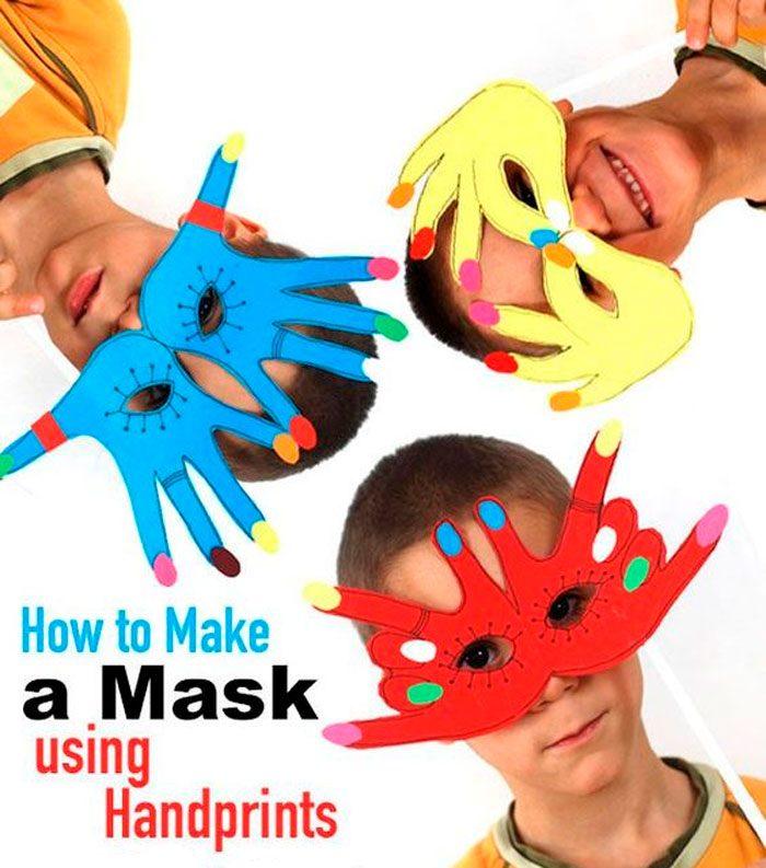 Masque de main
