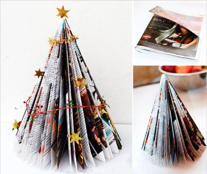 Árvore de Natal da revista