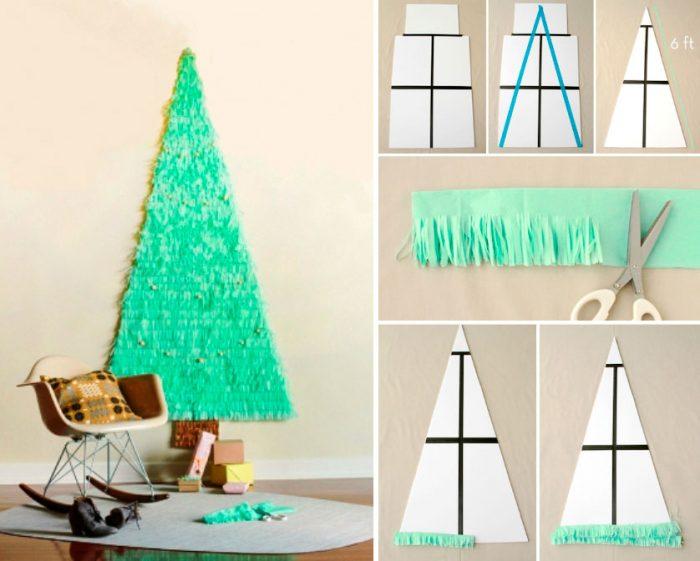 Grande árvore de Natal