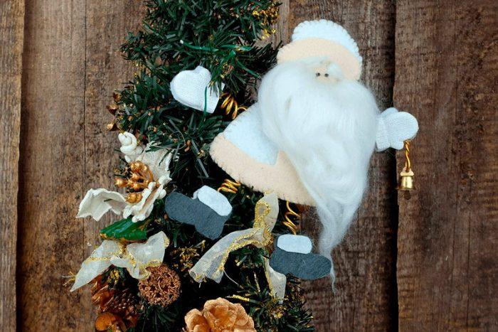 Санта Клаус киізден