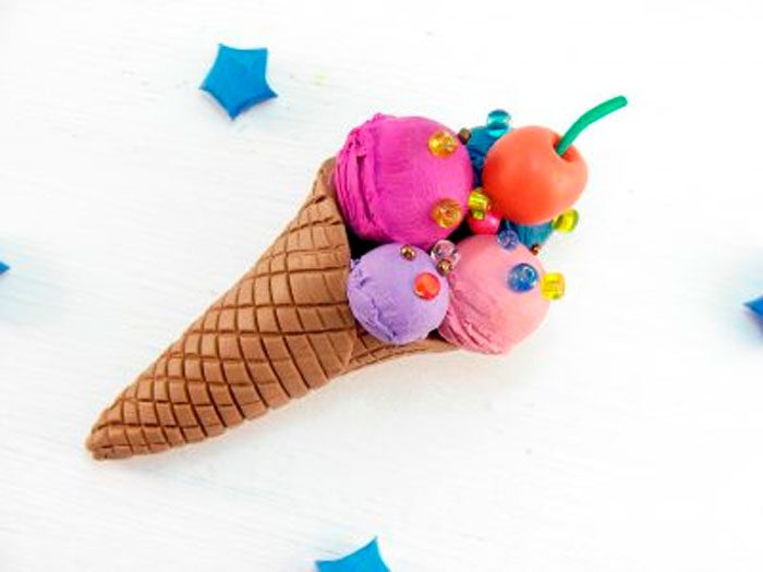 Plasticine Ice Cream.