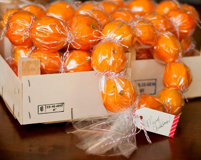 Mandarin çelenk