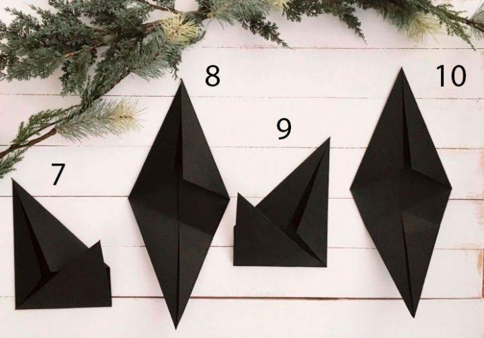 Estrela na árvore de Natal