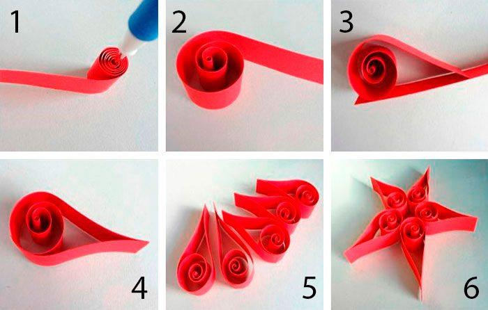 Amarre um loop usando uma fita de cetim.