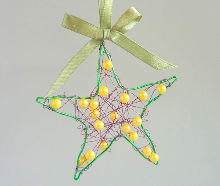 ستاره 3D از دستمال کاغذی