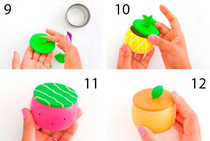 Bagaimana untuk membuat kotak buah