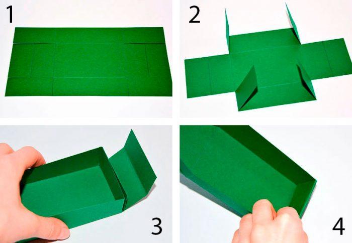 Bagaimana untuk membuat kotak kadbod