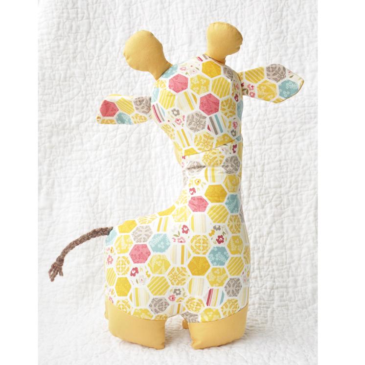 Giraffe Stuffed Animal Pattern