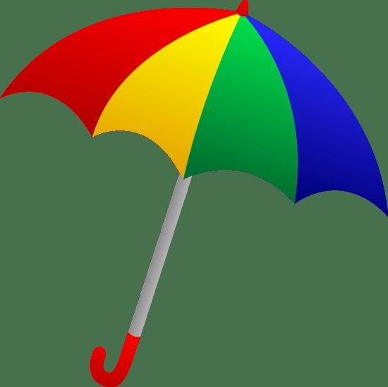 Art Ubrella Clip Yellow