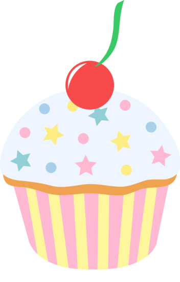 Cupcake Decorating Clip Art