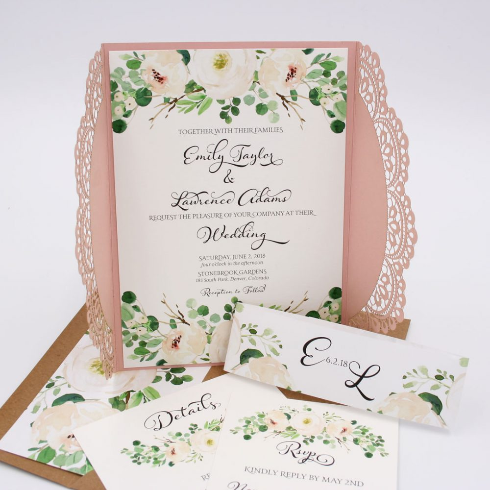 Outdoor Wedding Invitation Wording Samples