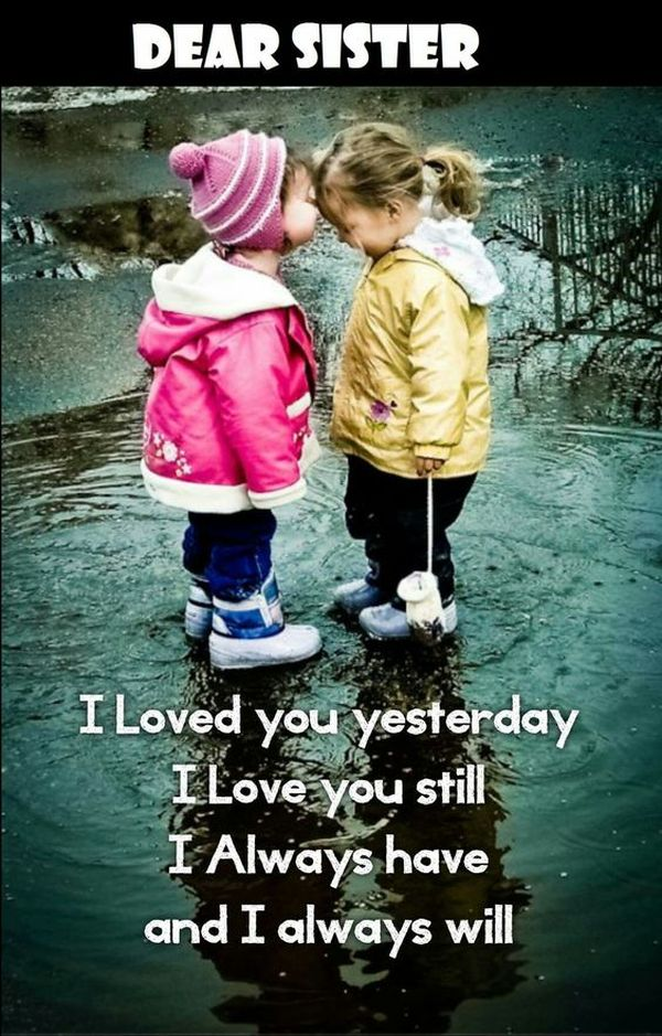 Sibling Quotes  150 Best Brother and Sister Quotes Ideas I Love You My Sister Quotes and Images      Happy Birthday to My Sister      Best  Inspirational Memes