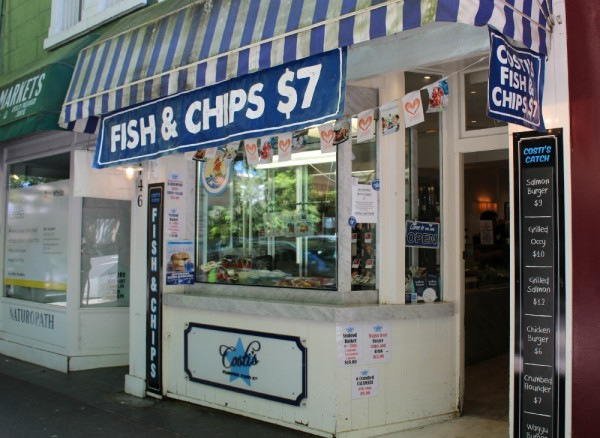 Fish Shop Queen Street Woollahra